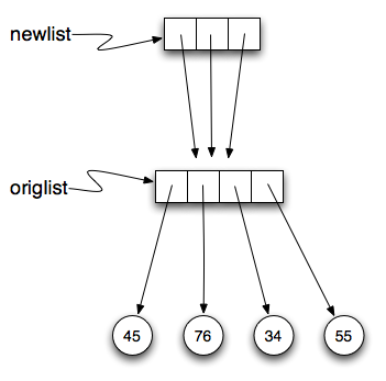 Repetition of a nested list